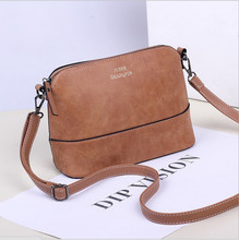 New 2015 autumn fashion preppy style stamp one shoulder bags women leather handbags women messenger bags