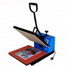 Heat transfer machine 38 * 38 flat heat press machine T-shirt transfer machine multifunction