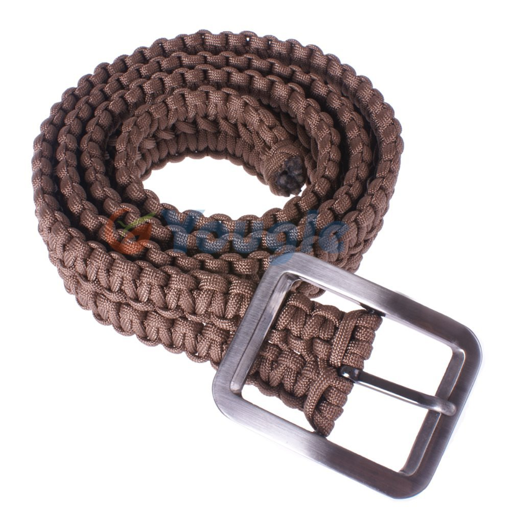 Buy new hand made high quality survival for How to make a belt out of paracord
