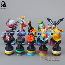 Free Shipping Anime Cartoon Pokemon Pikachu PVC Action Figure Collection Model Toys Dolls Classic Toys 10pcs/set
