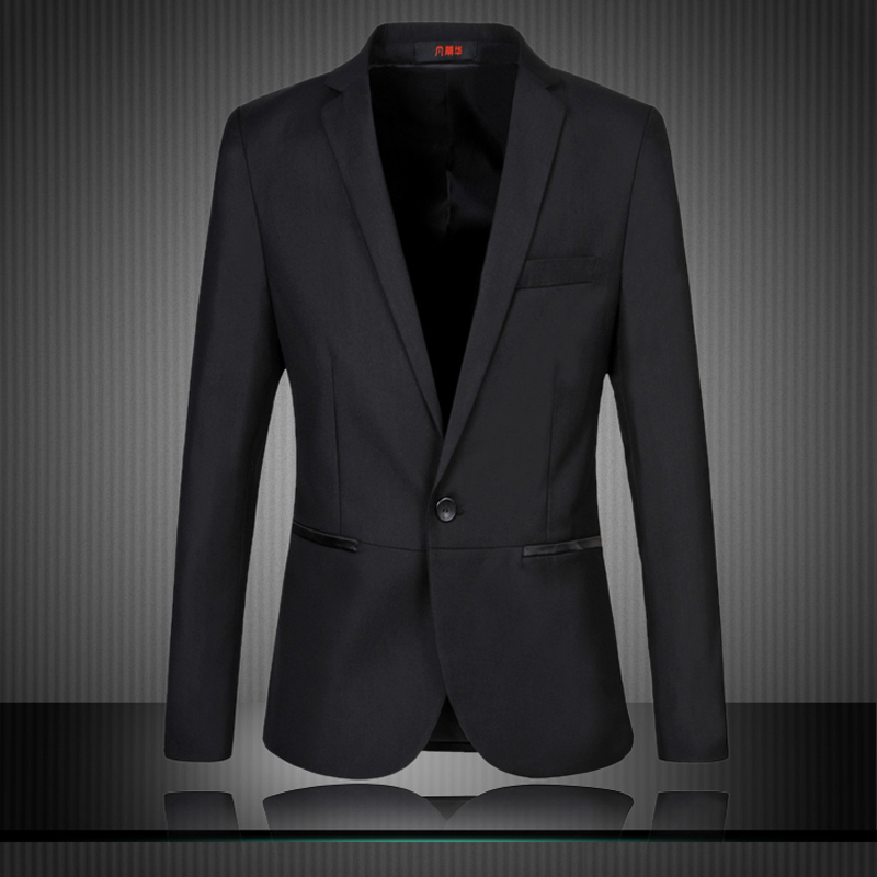 Mens Black Suit Jacket Cheap Dress Yy