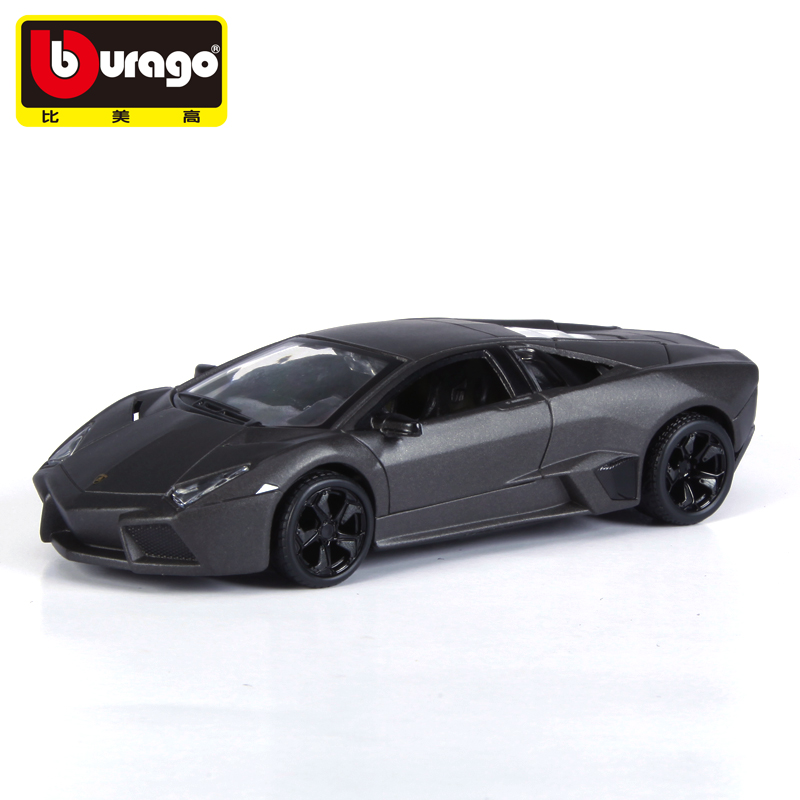 5pcs/pack Wholesale Brand New Burago 1/32 Scale Car Model Toys Italy L-amb0rghini Reventon Diecast Metal Car Toy(China (Mainland))