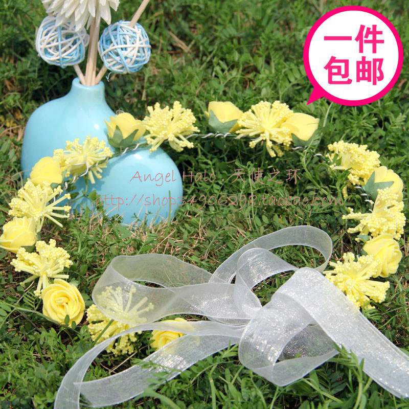 Angel halo popular accessories hair accessory child garishness material hand ring h033(China (Mainland))
