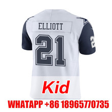 Men's youth kid Adult #4 Dak Prescott #21 Ezekiel Elliott #88 Dez Bryant #82 Jason Witten White Color Rush Limited(China (Mainland))