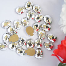 Buy Nail Art Crystal Strass Rhinestones Mine Silver Non Hotfix Rhinestone 6*8mm 10pcs Skull head Crystals DIY Gem decoration for $1.49 in AliExpress store