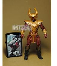 Limited! 11cm High DC comics hero Justice League marvel Classic Toy Rudolf Dahl action figure Toys