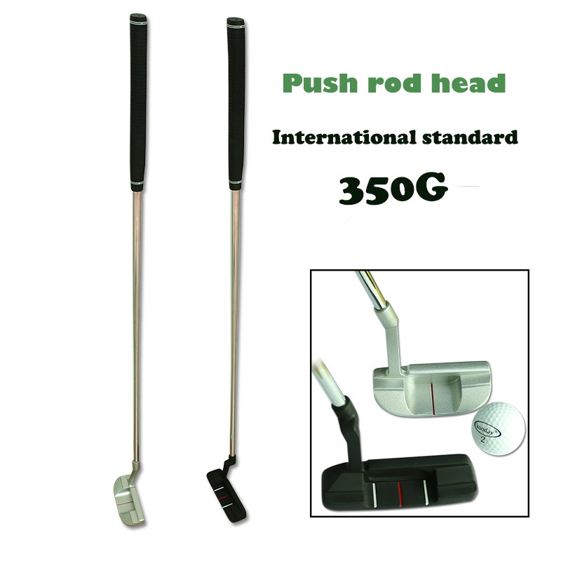 2016 Fasion Stainless Steel Golf Putter Special Circuit Game Golf Clubs Golf Office Practice Aid Pommel & Round Club Head(China (Mainland))