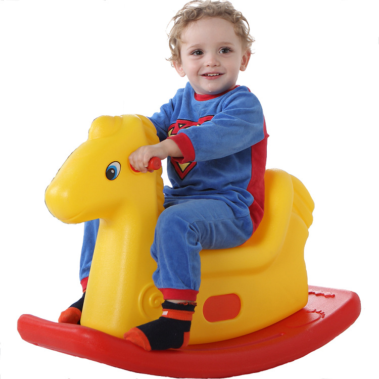 Children twisting rocking horse toddler baby cute plastic for Cute toddler chairs