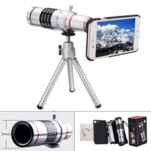 Buy 18X Zoom Optical Mobile Phone Telescope Lens Portable Phone Telephoto Camera Lens Back Case Tripod Kit Holder iPhone 7 for $22.72 in AliExpress store