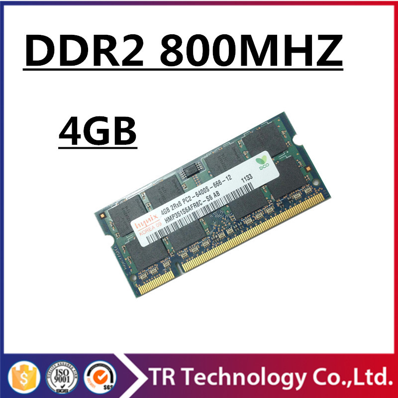 Brand ddr2 800 4gb 8gb pc2-6400 so-dimm laptop, ram ddr2 800 4gb pc2 6400 sodimm notebook, memoria ram ddr2 4gb 800 mhz sdram(China (Mainland))