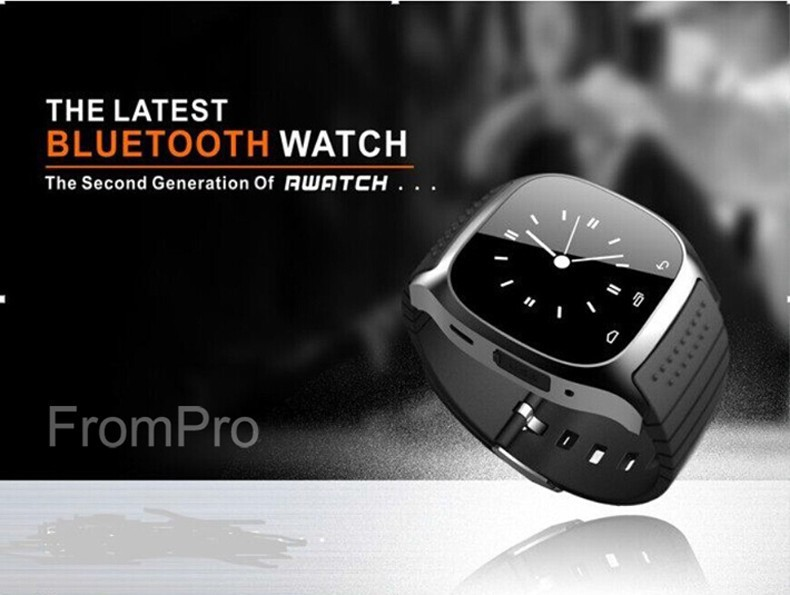 NEW M26 Bluetooth Smart Watch luxury wristwatch R watch smartwatch with Dial SMS Remind Pedometer for Android Samsung phone