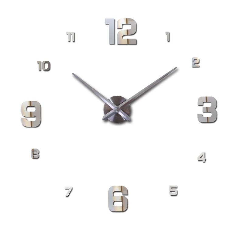 2016 sale home decor circular wall clock modern big 3d diy acrylic mirror quartz sticker clocks watch gift  -  DIY Time Life store