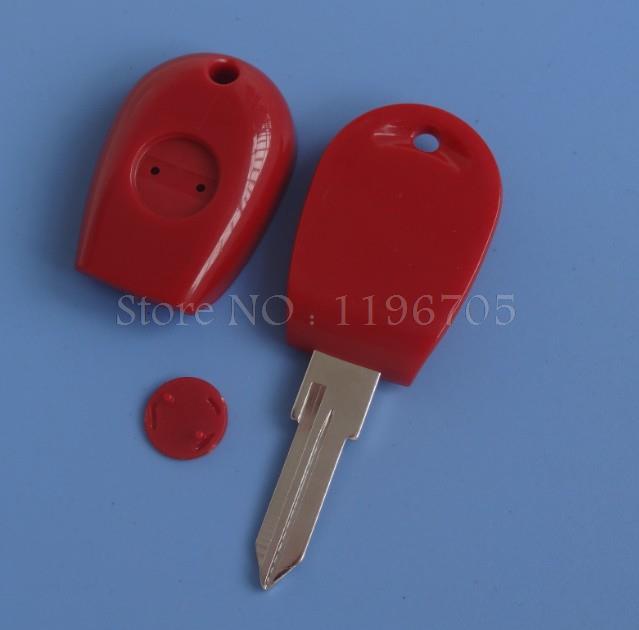 Красный крышки случая ключевой раковины для Alfa Romeo 1995-1998 145,146 раковина ключа приемоответчика с GT15R лезвия