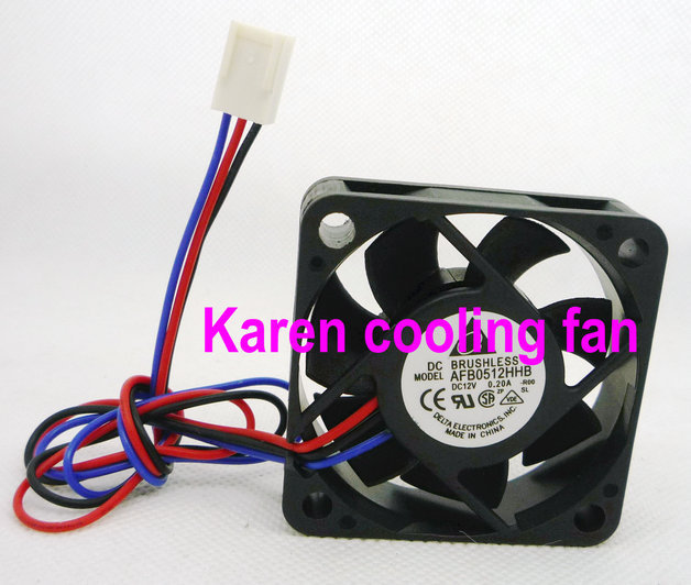 5015 12v 0.2a AFB0512HHB -R00 50*50*10mm 3wire Cooling fan<br><br>Aliexpress
