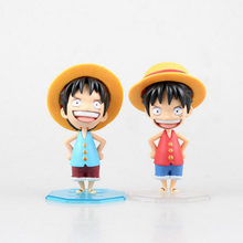Buy Anime One Piece Monkey D Luffy Q Version PVC japan birthday gifts doll Action Figure Collectible Model Toy T5337 for $10.02 in AliExpress store
