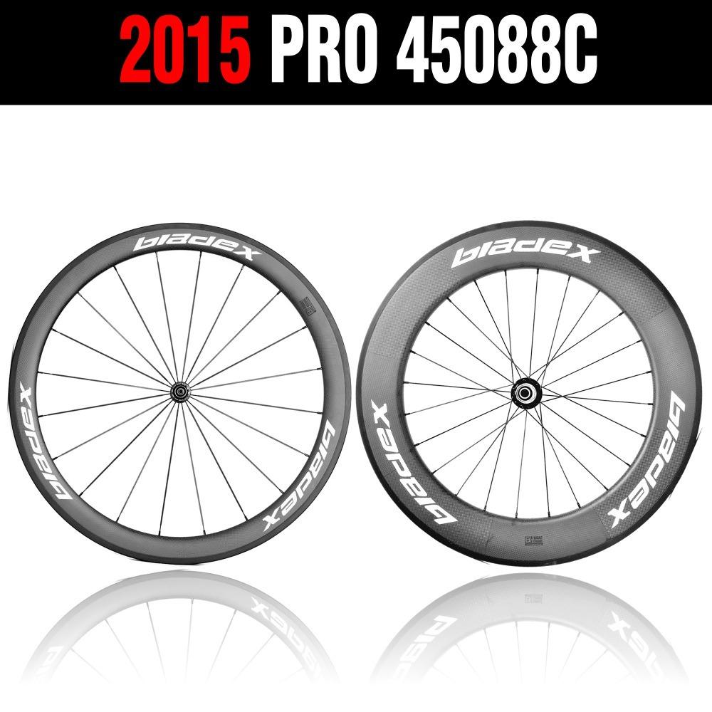 Bladex pro road bike carbon wheels 45088c 50 88mm carbon clincher