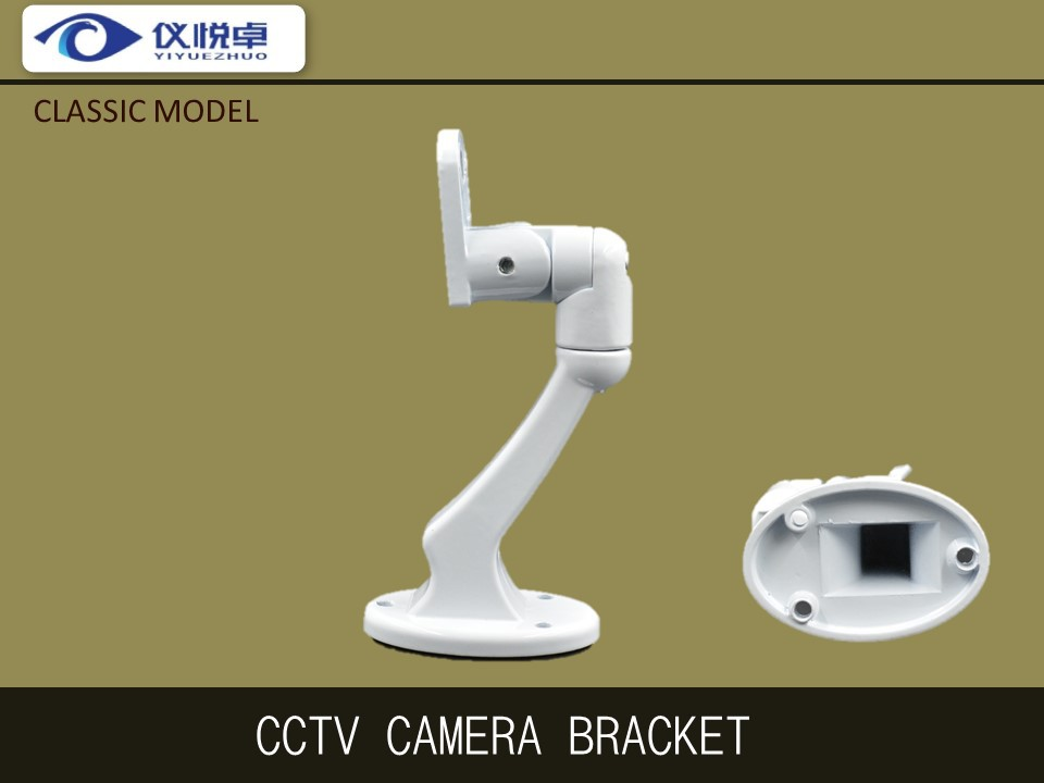 Free Shipping Cheap CCTV Camera Bracket Wholesale High Quality Black Aluminum Wall Mounting Rotating Bullet Camera Parts A36<br><br>Aliexpress