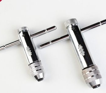 T-tapping wrench adjustable ratchet tap wrench Reversible hinge wire tapping hand 8512(China (Mainland))