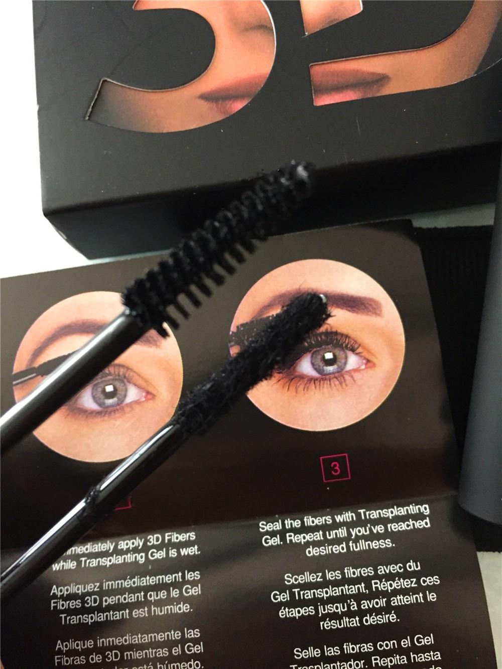 New Arrive Unique MOODSTRUCK 3D FIBER LASHES+ MASCARA LONG LASHES Set Makeup lash eyelash 1set=2pcs waterproof double mascara<br><br>Aliexpress