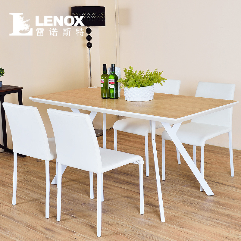 LENOX Nordic Paint Ideas Small Apartment Modern Minimalist Dining Table Dinne