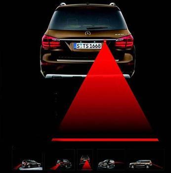 Автомобиль лазер противотуманные фары сзади предотвращения столкновений безопасности движения сигнала сигнальная лампа