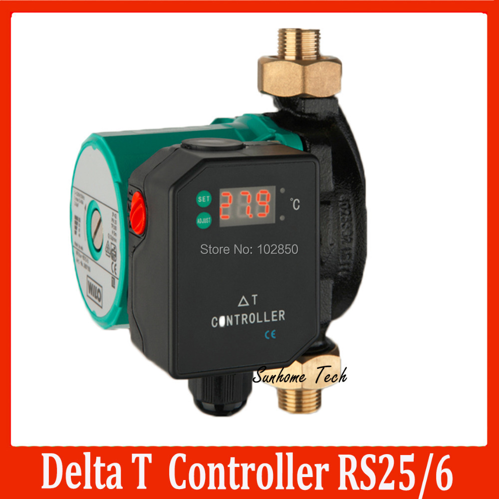 Solar Water Heater Pump Controller Hot Panel Differential Pictures