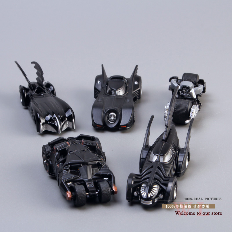 DC Tomica Limited TC Batman Metal Batmobile Collectible Model Toys 7cm/2.8 5pcs/set New in Box HRFG174<br><br>Aliexpress