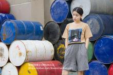 single store homemade Korean Ulzzang New South Korea Han wind Fenggang simple short sleeved t-shirt female hip Harajuku(China (Mainland))
