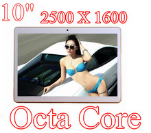 10 inch 8 core Octa Cores 1280X800 IPS DDR3 4GB ram 16GB 8.0MP 3G Dual sim card Wcdma+GSM Tablet PC Tablets PCS Android4.4 7 9