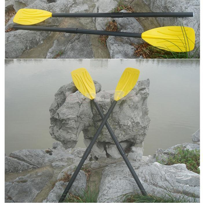 High Quality INTTEX59623 France Style 122CM Length Aluminum Oars Wear-resistant Fishing Boat Inflatable Boat Kayak Paddle(China (Mainland))