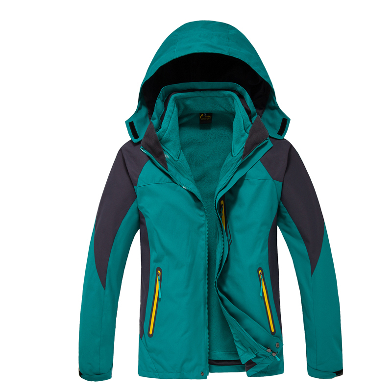 Dropshipping 2015 new Top quality Men's thermal Jackets outdoors hiking Travel Mountain climbing leisure trekking jacket(China (Mainland))