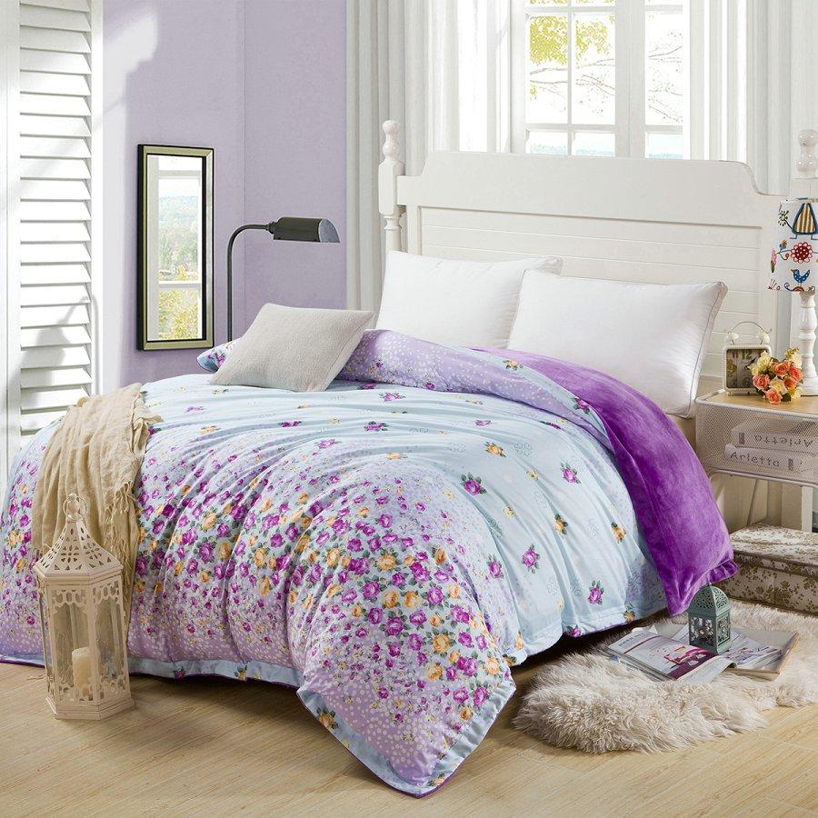 luxury bedding linen quilt covers winter autumn warm a side100 cotton duvet covers housse de. Black Bedroom Furniture Sets. Home Design Ideas