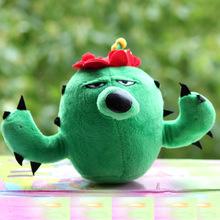 Anime Plants vs Zombies Soft plush cactus toys
