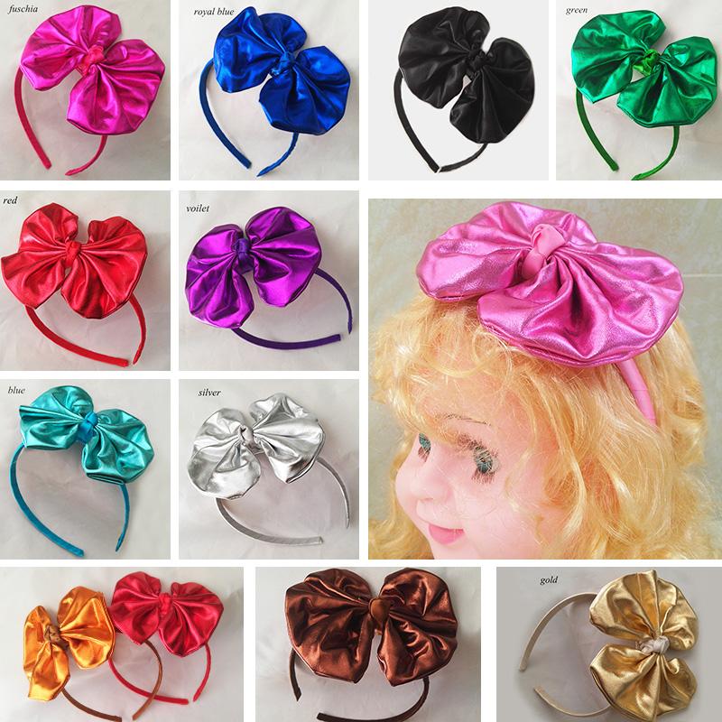 12pcs/lot Hotsal Kids Baby Girls Hair Bows Hairband Ribbon Wrapped Headband Fashion Girls Hair Accessory(China (Mainland))