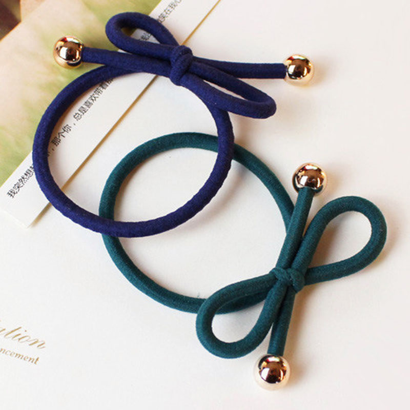 Hair Ring Hair Rope Elastic Braided Tonytail Wrap Hairband Fastening Accessories Synthetic Headwear Ponytails Holder(China (Mainland))
