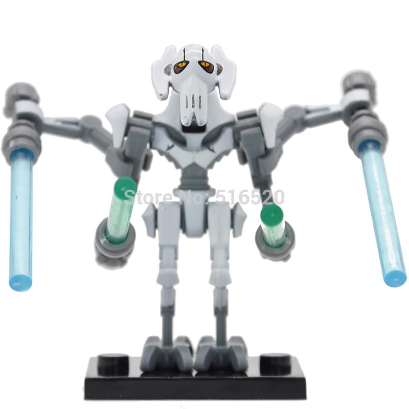 Wholesale Star Wars 7 General Grievous Minifigures Single Sale Building Blocks 20pcs lot The Force Awakens