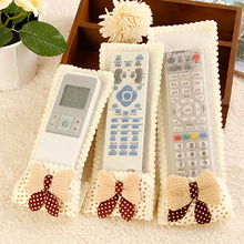 Fabric Butterfly Protective Cover Case Dustproof for Air conditioning TV Remote Control