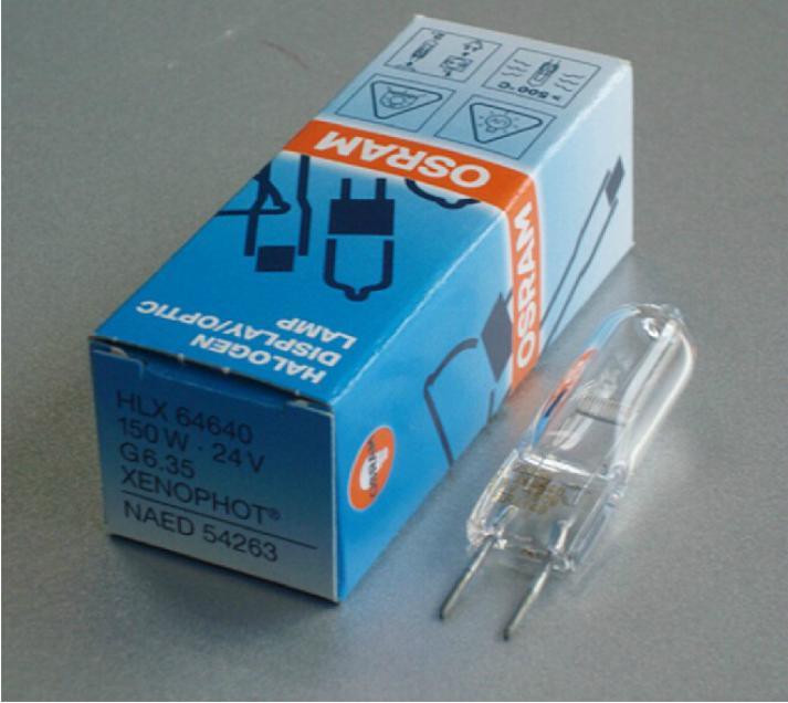 Галогенная лампа Unbrand Osram 64640 HLX A1/216 FCS 150W 24V G6, 35 галогенная лампа professional lt03026 ot 24v75w g6 35 1000hrs osram 64455 6419 ax4