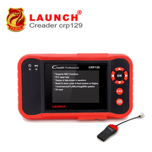 Launch Professional Crp129 Launch Creader Auto Code Reader Update Online 4 Systems EPB SAS Oil Light resets Car Diagnostic Tool(China (Mainland))