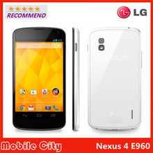 E960 Original LG Nexus 4 E960 Cell Phone 3G 8GB/16GB ROM 2GB RAM 8MP Camera 4.7″ Quad Core NFC Unlocked Smartphone Free Shipping
