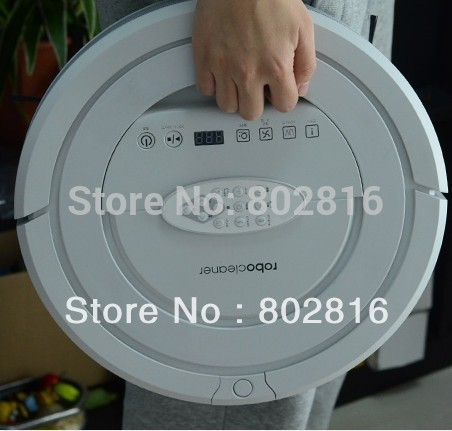 High Suction Power ,Top 5 in1 Multifunctional Mini Robot Vacuum Cleaner,nontouch chargebase,patent Sonic wall ,UV(China (Mainland))