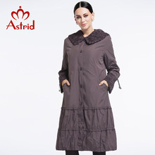 Astrid 2015 New Spring Fashion Casual Women's Trench Coat Long Outerwear Purple Clothes For Lady Good Quality AS-8162(China (Mainland))