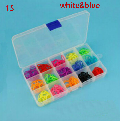 3Size 10/15/24 Compartment Slot Organizer Storage Beads Box Plastic Jewelry box Adjustably Packaging Display pill case organizer(China (Mainland))