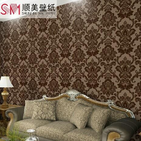 aliexpress com buy classic wall paper home decor red damask wallpaper home decor www galleryhip com the