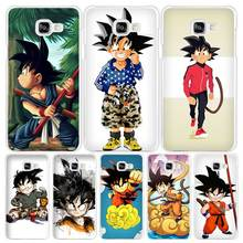 Buy seven dragon ball z kid goku Hard White Coque Shell Case Cover Phone Cases Samsung Galaxy A3 A5 A7 2016 2017 A8 A9 for $1.62 in AliExpress store