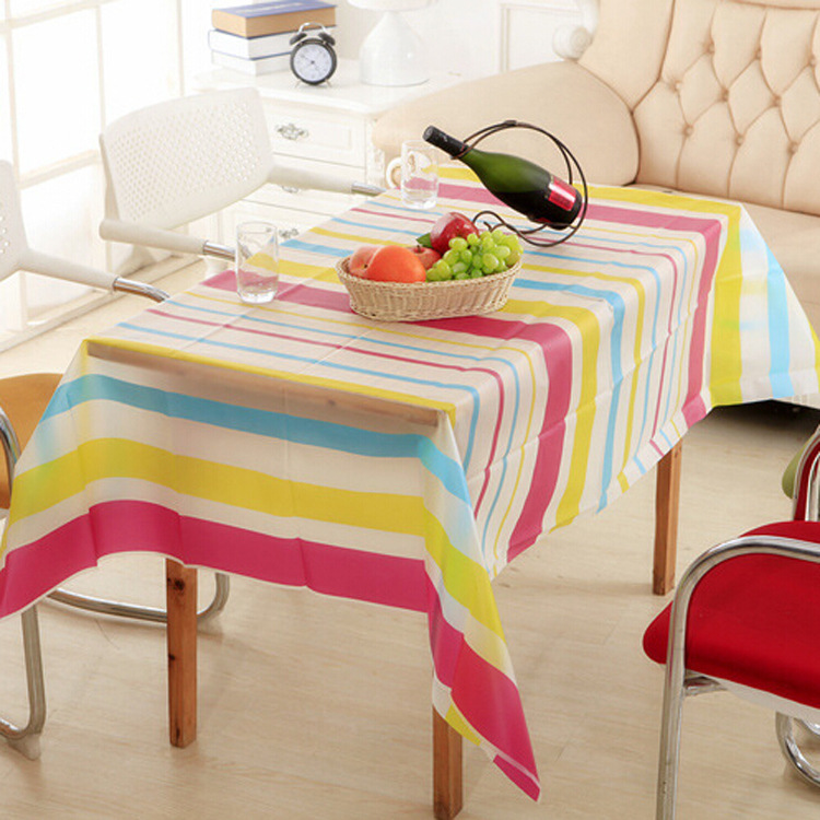 New hot floral pvc waterproof oilproof table cloth rectangular high temperature resistant coffee Coffee table tablecloth