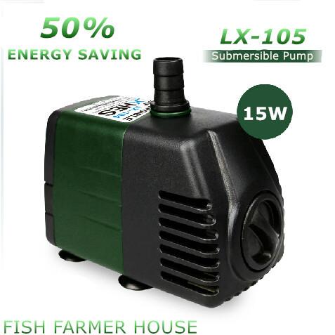 Lxhes lx 105 sumergible bomba de agua 15 w 220 v ac for Bomba para fuente de jardin