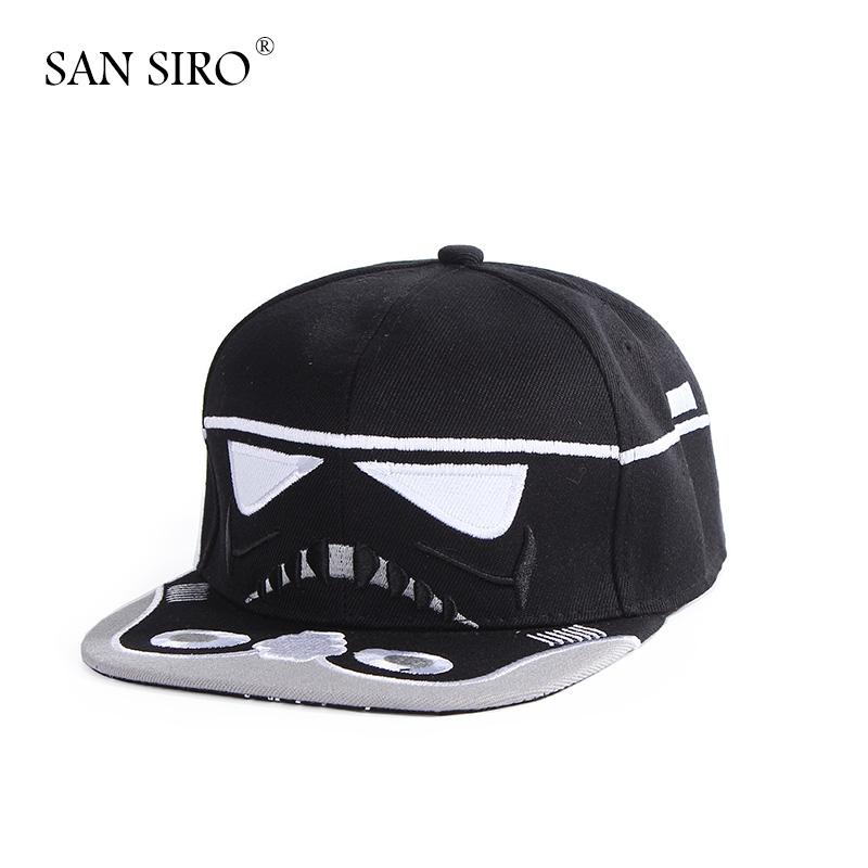 New 2016 Fashion Snapback Caps With Star Wars Design Print Summer Autumn Men Women Sport Brand Adjustbale Hip Hop Baseball Hats(China (Mainland))
