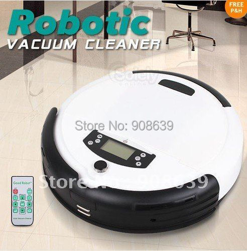 Free Shipping For Russian Buyer/White Color 4 In 1 Robotic Automatic Recharge Robot Vacuum UV Cleaner Floor Sweeper Mopper(China (Mainland))