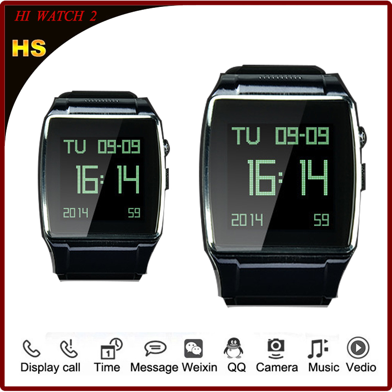 2015 New Watches Men Hi Watch 2 Watches Watched for Iphone Samsung HTC Android Phone for Men Relojes/Clock/Camera/MP3/Video/FM(China (Mainland))